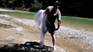 Накидка для рыбной ловли способы заброса