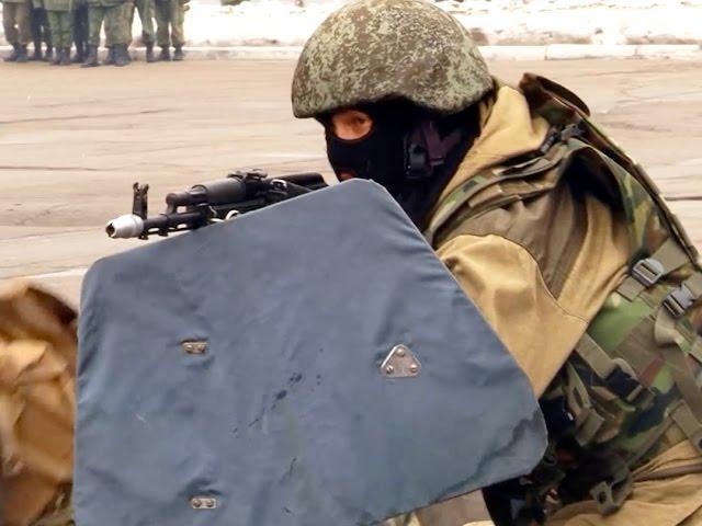 Военные показали пример