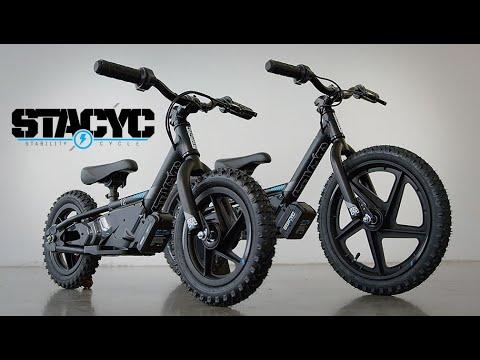 STACYC Youth Electric Balance Bikes