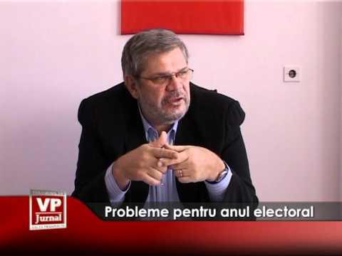 Probleme pentru anul electoral