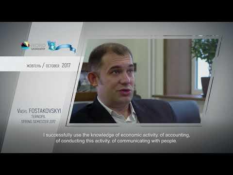 Video feedback of Vasyl Fostakovskyi, graduate of the Ukraine-Norway project