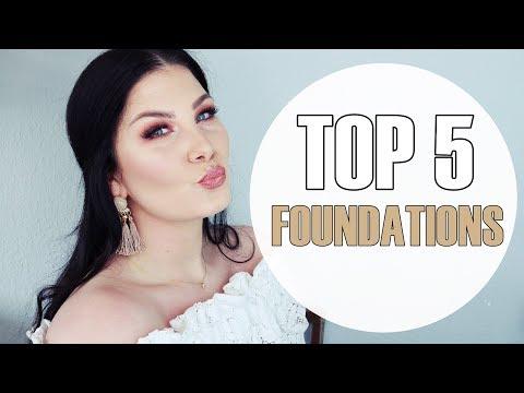 TOP 5 FOUNDATIONS für trockene Haut / Drogerie und Highend
