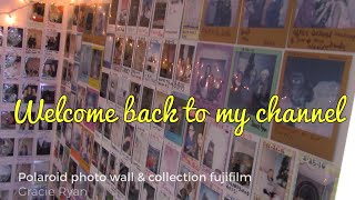 Polaroid Photo Wall & Collection Fujifilm