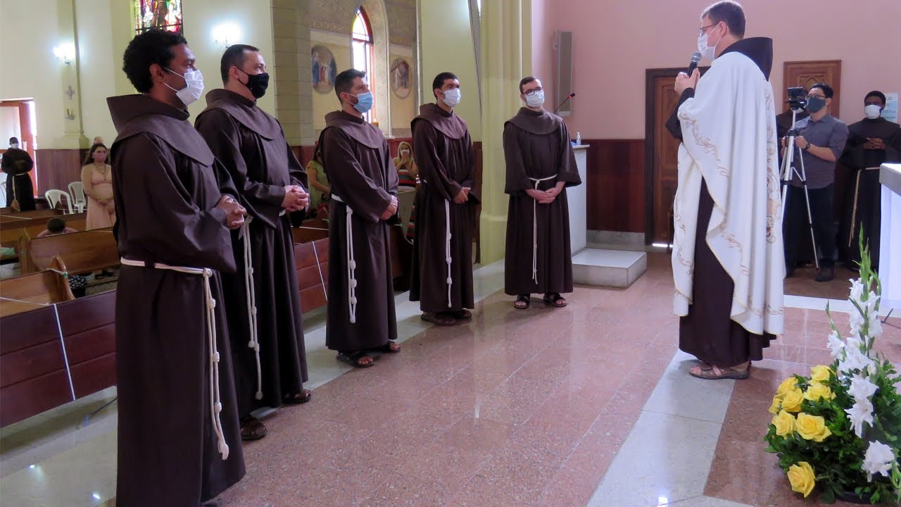 Profissão Solene na Ordem dos Frades Menores | 2020