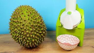 Что если сделать мороженое из вонючего Дуриана? Ice Cream Maker из Китая.
