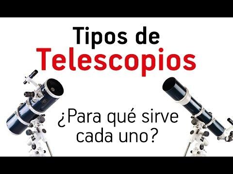 Tipos de telescopios - Para qué sirve cada uno