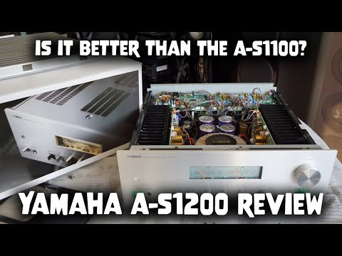 External Review Video ENNjH5ARRj4 for Yamaha A-S1200 Integrated Amplifier