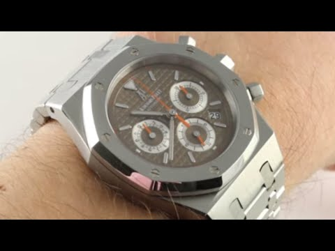 Audemars Piguet Royal Oak Chronograph 26300ST.OO.1110ST.07 Luxury Watch Review