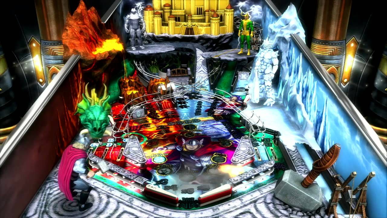 Whosoever Holds This Pinball Table Shall Possess The Power Of Thor