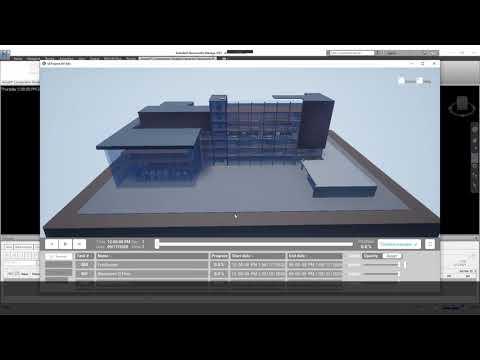 Unreal® Construction Timeline Viewer for Navisworks®