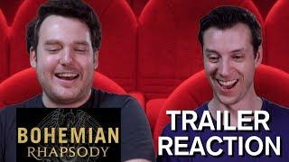 Bohemian Rhapsody - Official Trailer - Reaction