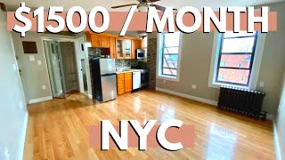 What $1500 Will Get you in NYC | Affordable New York City Apartments