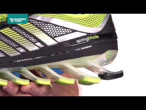 Herren Laufschuh Adidas Springblade