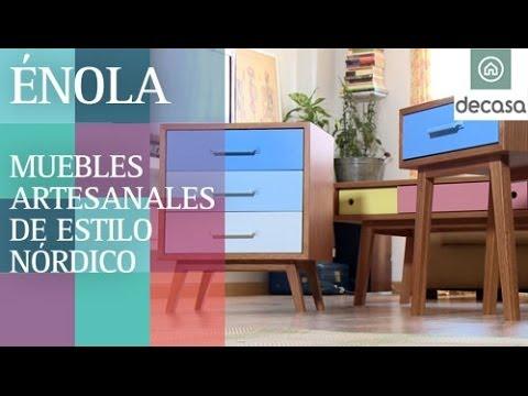 Énola, muebles de estilo nórdico artesanales (Reportaje) | Diseño de autor
