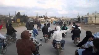 شام حماة السلمية تشييع الشهيد محمد سعيد الجرعتلي 7 2 2013 جـ4