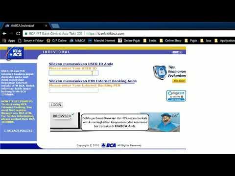 cara bayar pajak npwp di internet banking bca