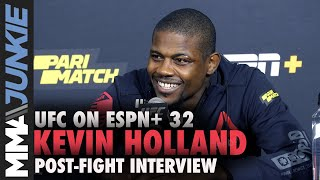 UFC On ESPN+ 32: Kevin Holland Post Fight Interview