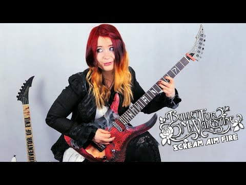 BULLET FOR MY VALENTINE - Scream Aim Fire [GUITAR COVER] with SOLO | Jassy J