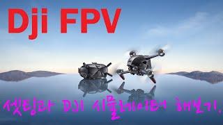 [드론 리뷰] 버드 이야기 | DJI FPV 셋팅하기 | DJI FPV 플라이트 시뮬레이터 | 레이싱 드론 시뮬레이터 | 드론 가방 | DJI FPV 바인딩 | 아크로 비행