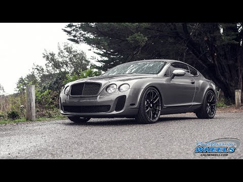 Bentley Continental GT Supersports on Savini Wheels by California Wheels