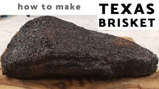 How To Make TEXAS STYLE SMOKED BEEF BRISKET On An Offset Smoker (Oklahoma Joes Smoker)