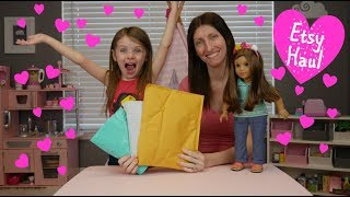 American Girl Create Your Own Etsy Haul Doll Fashion Show 18 Inch Doll Clothes!