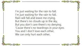 Chris Isaak - Waiting for the Rain to Fall Lyrics