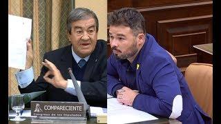 Interrogatorio de Gabriel Rufián a Alvarez Cascos por la corrupción del PP