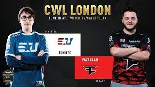 eUnited vs FaZe Clan | CWL London 2019 | Day 1