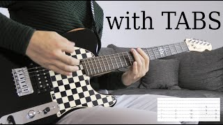 Skillet   Victorious Guitar Cover WTabs On Screen