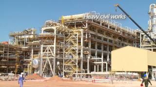 Oil & Gas Video - Engineering, Construction; Galfar, Oman (4 Min) - HardHat Media