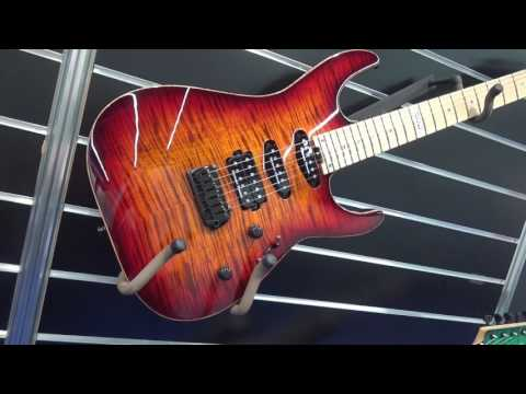 ESP guitars at Frankfurt Musikmesse 2017 USA and Original guitars