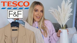 TESCO F&F CLOTHING & HOMEWARE / DECOR HAUL!