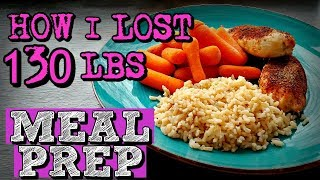 WEEKLY CLEAN EATING MEAL PREP For WEIGHT LOSS (CHEAP, EASY & EFFECTIVE)