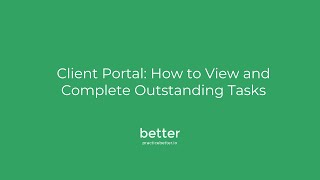 Viewing & Completing Tasks