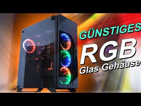 Ein GÜNSTIGES RGB Glas Gehäuse! -- Sahara P35