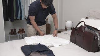 How to Pack a Weekender Bag | Weekend Wedding
