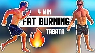 Burn Fat In 4 Minutes - Tabata Workout by Live Lean TV