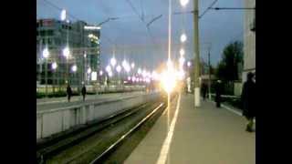 Прибытие поезда №10 Саратов-Москва