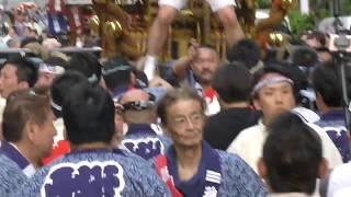 令和元年神田祭 旧神田市場千貫神輿②