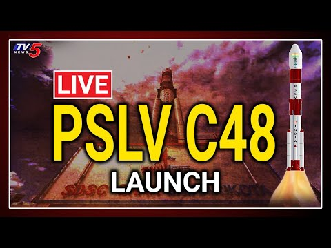 LIVE : ISRO PSLV-C48 Launch of RISAT-2BR satellites   ISRO Live   TV5 News