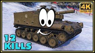M44 - 12 Kills - World of Tanks Arty Gameplay - 4K Video