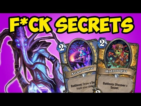 [Hearthstone] How to beat EVERY MAGE AND PALADIN in Un'Goro!