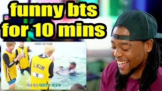 Bts Being The Funniest Boyband In The World For 10 Minutes Straight   Reaction!!!