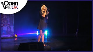 ALL THIS LOVE – JP COOPER performed by LOU RYDER at Open Mic UK music competition