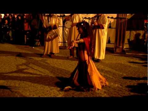 Safiyah and Gnawa Al-Baraka na Feira Medieval de Avis