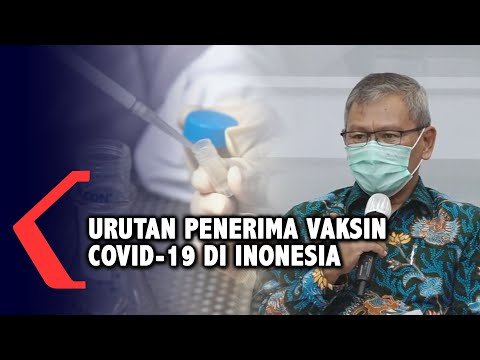 penjelasan kementerian kesehatan terkait urutan penerima vaksin covid- di indonesia