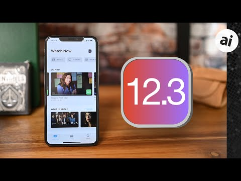 Apple releases updates for iOS 12 3 with TV app additions