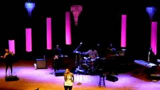 "Chrisette Michele performs ""Fragile"""