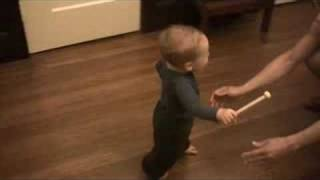 Oliver walking